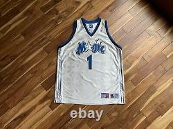 Authentic Tracey McGrady White Stars Orlando Magic Jersey Size 52 XXL