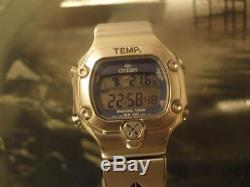 Avant-Garde Magic Lights Citizen Promaster training Timer D320 Men´s watch 1990s