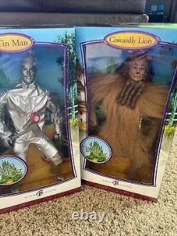 Barbie Wizard of OZ Pink Label Lot of 8 Dorothy, Lion, Tin Man, Scarecrow, Glinda