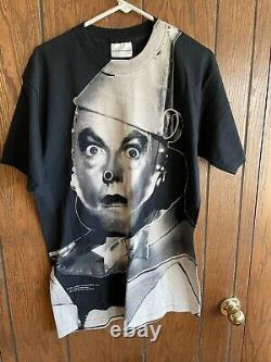 Bnwot Deadstock Vtg Stanley Desantis 1992 Tin Man Wizard Of Oz T-shirt Large