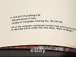 COMPLETE SET 1-24 Man Myth & Magic Illustrated Encyclopedia Supernatural Books