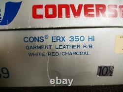 CONVERSE ERX 350 BASKETBALL SHOES WEARABLE SIZE 10.5 80s Magic Johnson Bird