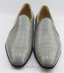 Cesare Paciotti 43359M Magic Baby Fumo Grey Mens Leather Loafer Shoes