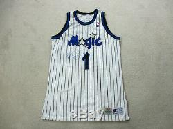 Champion Penny Hardaway Orlando Magic Basketball Jersey Game Used Worn Issued