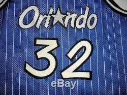 Champion Shaq Shaquille O'Neal Authentic Orlando Magic jersey 48 XL vintage 90s