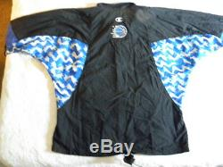 Champion Shaq Shaquille O'Neal Authentic Orlando Magic warmup jacket 56 vintage