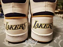 Converse Lakers hightops Vtg Basketball 80s rare magic johnson erx 260 shoes sne