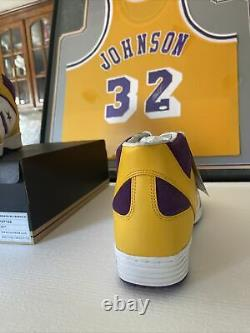 Converse WEAPON 86 Basketball SHOES MAGIC JOHNSON/LAKERS COLORWAY SIZE 15