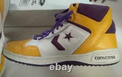 Converse WEAPON 86 Basketball SHOES MAGIC JOHNSON/LAKERS COLORWAY SIZE 9