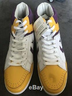 Converse Weapon 86 Basketball Shoes (DS) Magic Johnson/Lakers Colorway, Size 12