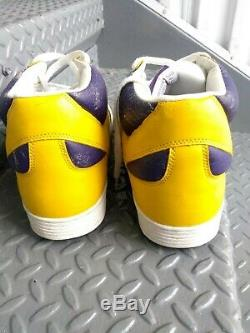 Converse Weapon Hi Magic Johnson Gold Purple Size 12 Lakers NBA Basketball