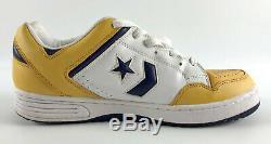 Converse Weapon Low Gold Purple White Magic Lakers Mens Shoes Size 12 Vintage