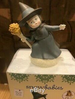 Dept 56 Snowbabies Wizard of Oz 6 pc Set Dorothy Glinda Wicked Witch Tin Man NEW