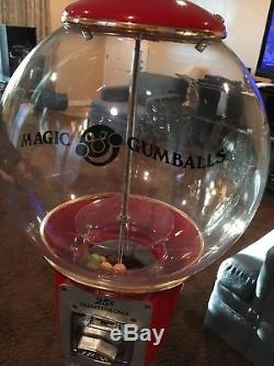 Disk Man Giant 4 Foot Magic Gumball Machine