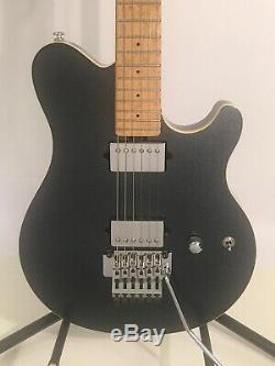 Ernie Ball Music Man Axis Guitar Limited Edition Black Magic Crystal with case