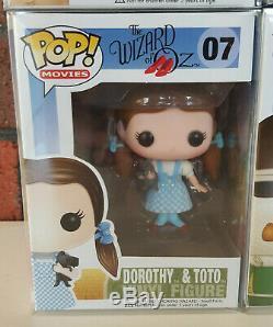 FUNKO POP The Wizard of Oz Dorothy & Toto, Cowardly Lion, Tin Man & Scarecrow