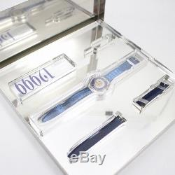 Free Shipping Pre-owned SWATCH Tresor Magic PT950 Limited Edition 12999 Men's
