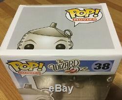 Funko DAMAGED BOX WIZARD OF OZ 3PC 3.75 POP SET RETIRED TIN MAN SCARECROW LION