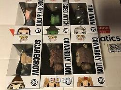Funko Pop Wizard Of Oz Glinda Dorothy Wicked Witch Tin Man Scarecrow Lion 7 Pops