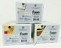 Funko WIZARD OF OZ 3PC 3.75 POP SET RETIRED TIN MAN SCARECROW LION