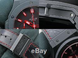 HUBLOT BIG BANG RED MAGIC 301. CI. 1123. GR Automatic Titanium 44M Used Mens Watch