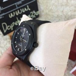 HUBLOT Big Bang Ceramic Black Magic Black Carbonfiber Men's Watch AUTHENTIC