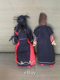 Haunted Voodoo Witchcraft Black Magic Satanic Man/woman Dolls/box/sigilrevenge+