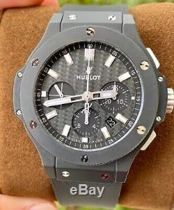Hublot Big Bang 44 Black Magic $16K MSRP Complete 2018 Ceramic 301. CI. 1770. RX
