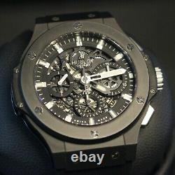 Hublot Big Bang Aero Bang Black Magic Skeleton 311. CI. 1170. RX $22k MSRP