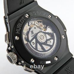 Hublot Big Bang Black Magic Auto Chronograph 44mm Ceramic Case 301. CI. 1770. RX