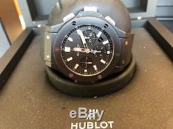 Hublot Big Bang Ceramic Black Magic Black Carbonfiber Mens Watch 301. CI. 1770. RX