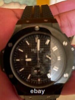 Hublot Big Bang Chronograph 44mm Mens 301. Ci. 1770. Rx Black Magic Watch