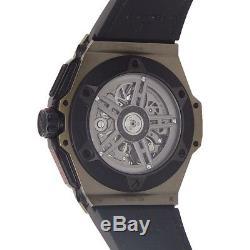 Hublot Big Bang Ferrari 18K Magic Gold Auto Skeleton Men's Watch 401. MX. 0123. VR