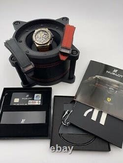 Hublot Big Bang Ferrari 18k Magic Gold 45 mm Limited Edition 401. MX. 0123. VR