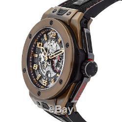 Hublot Big Bang Ferrari LE Skeleton Magic Gold Men's Watch Auto 401. MX. 0123. VR