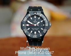 Hublot Big Bang King Ceramic Black Magic LTD 44mm Watch w Box & PAPERS