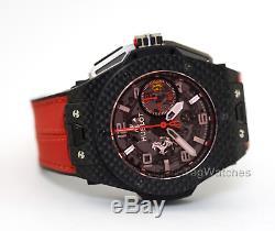 Hublot Big Bang UNICO Ferrari Red Magic 401. QX. 0123. VR Carbon Limited Wristwatch