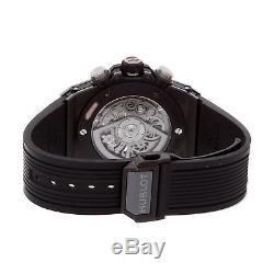 Hublot Big Bang Unico Black Magic Auto 45mm Ceramic Mens Watch 411. CI. 1170. RX