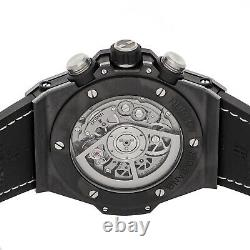Hublot Big Bang Unico Black Magic Auto Ceramic Mens Watch Chrono 411. CI. 1170. RX