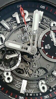 Hublot Big Bang Unico Black Magic Ceramic 45 mm Chronograph 411. CI. 1170. RX