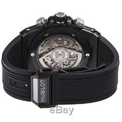 Hublot Big Bang Unico Black Magic Chrono 406. CI. 0170. RX Auto Ceramic Mens Watch