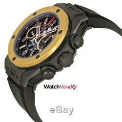 Hublot Big Bang Unico Magic Automatic Gold Black Rubber Men's Watch 411CM1138RX