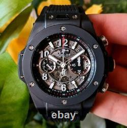 Hublot Big Bang Unico Men's Watch Black Magic Edition 411. CI. 1170. RX