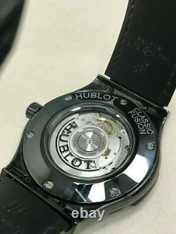 Hublot Black Ceramic Classic Fusion Black Magic Automatic 511. CM. 1771. RX Receipt