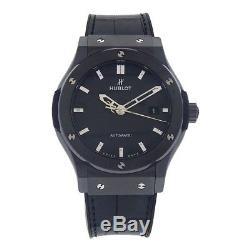 Hublot Classic Fusion Black Ceramic Automatic Mens Watch 542CM1770RX Black Magic