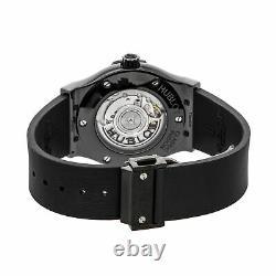 Hublot Classic Fusion Black Magic Auto Ceramic Mens Strap Watch 542. CM. 1771. RX