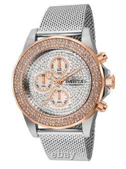 Invicta Pro Diver Sea Wizard Men's 44mm Pave Crystal Chronograph Watch 31569