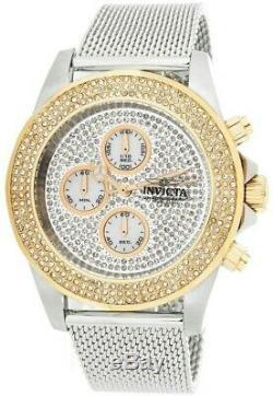 Invicta Pro Diver Sea Wizard Men's 44mm Pave Diamond Chronograph Watch $2,499