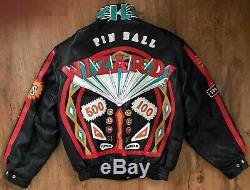 Jeff Hamilton The Who Pinball Wizard All Leather Custom Tour Concert Jacket