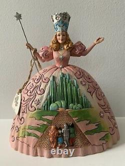 Jim Shore Wizard Of Oz Lot Glinda Dorothy Scarecrow Tin Man Lion Wicked Witch